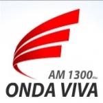 Logo da emissora R�dio Onda Viva 1300 AM