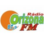 Logo da emissora Rádio Orizona 87.9 FM