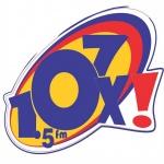 Logo da emissora R�dio Oxig�nio 107.5 FM