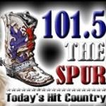Logo da emissora KIXV 101.5 FM The Spur