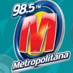 Logo da emissora R�dio Metropolitana 98.5 FM