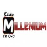 Logo da emissora Rádio Milenium 104.9 FM