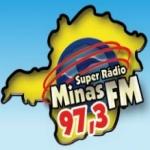 Logo da emissora Super Rádio Minas 97.3 FM