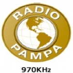 Logo da emissora R�dio Pampa 970 AM