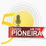 Logo da emissora Rádio Pioneira 1150 AM