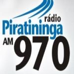 Logo da emissora Rádio Piratininga 970 AM