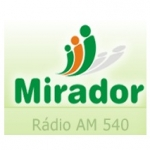 Logo da emissora R�dio Mirador 540 AM