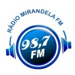 Logo da emissora R�dio Mirandela 98.7 FM