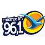 Logo da emissora R�dio Mirante 96.1 FM