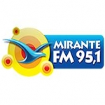 Logo da emissora R�dio Mirante 95.1 FM