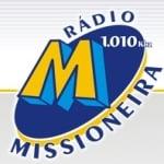Logo da emissora Rádio Missioneira 1010 AM
