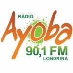 Logo da emissora R�dio Ayoba 90.1 FM