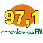 Logo da emissora Rádio Montanhês 97.1 FM