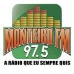 Logo da emissora Rádio Monteiro 97.5 FM