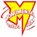 Logo da emissora Rádio Monumental 1080 AM