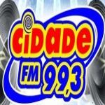 Logo da emissora R�dio Cidade 99.3 FM