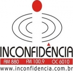 Logo da emissora R�dio Inconfid�ncia 880 AM