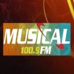 Logo da emissora R�dio Musical 100.9 FM