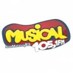Logo da emissora R�dio Musical 105.1 FM