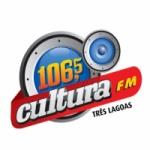 Logo da emissora R�dio Cultura 106.5 FM