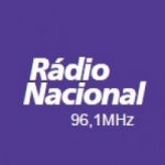 Logo da emissora Rádio Nacional 96.1 FM