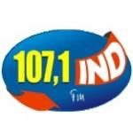 Logo da emissora R�dio Ind 107.1 FM