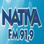 Logo da emissora Rádio Nativa 91.9 FM