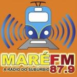 Logo da emissora Rádio Maré 87.9 FM