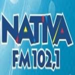 Logo da emissora R�dio Nativa 102.1 FM