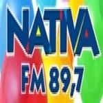 Logo da emissora Rádio Nativa 89.7 FM