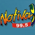Logo da emissora R�dio Nativa 99.5 FM