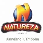 Logo da emissora Rádio Natureza 98.3 FM