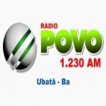 Logo da emissora Rádio Povo 1230 AM