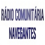 Logo da emissora R�dio Navegantes 87.7 FM