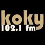 Logo da emissora KOKY 102.1 FM