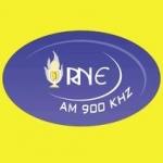 Logo da emissora R�dio Nordeste Evang�lica 900 AM