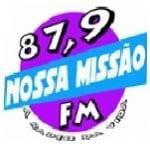 Logo da emissora Rádio Nossa Missão 87.9 FM
