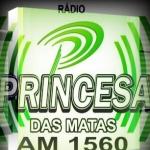 Logo da emissora R�dio Princesa das Matas 1560 AM