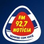 Logo da emissora Rádio Notícia 92.7 FM