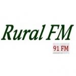 Logo da emissora Rádio Rural 91 FM