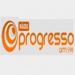 Logo da emissora R�dio Progresso 590 AM