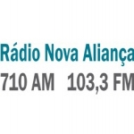 Logo da emissora Rádio Nova Aliança 710 AM 103.3 FM