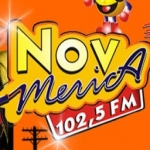 Logo da emissora R�dio Nova Am�rica 102.5 FM