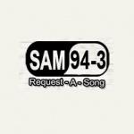 Logo da emissora KSMZ 94.3 FM