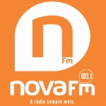 Logo da emissora R�dio Nova 103.1 FM