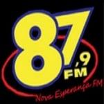 Logo da emissora R�dio Nova Esperan�a 87.9 FM