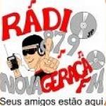Logo da emissora R�dio Nova Gera��o 87.9 FM