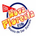 Logo da emissora Rádio Nova Floresta 87.9 FM