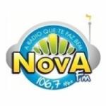 Logo da emissora R�dio Nova Gravat� 106.7 FM
