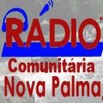 Logo da emissora Rádio Nova Palma 105.9 FM